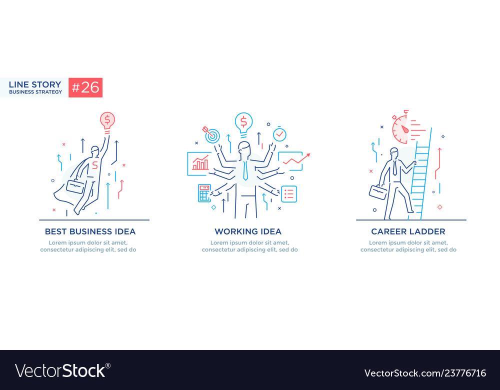Set of concept with business concept