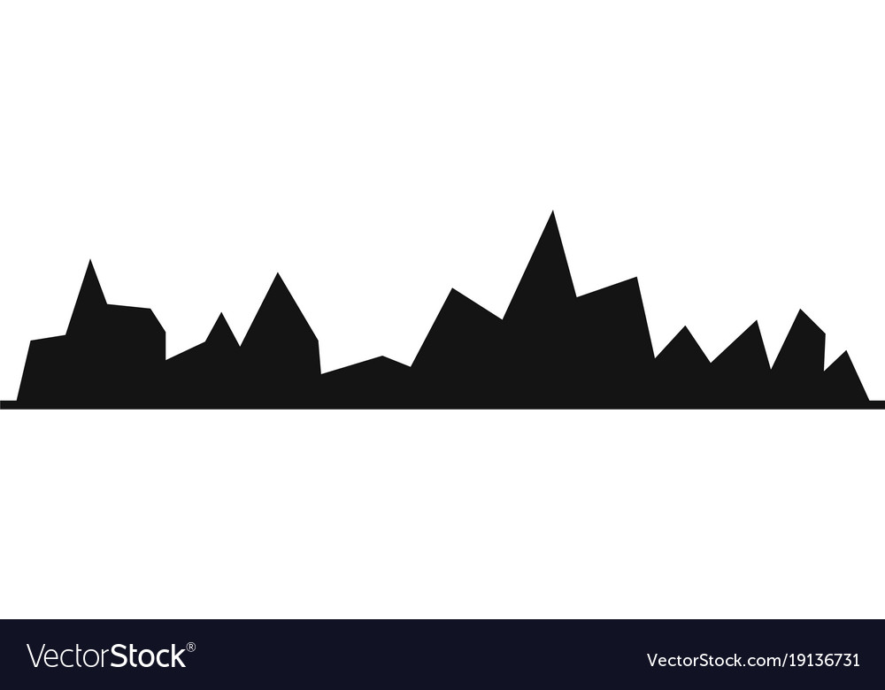 Equalizer icon simple black style vector image