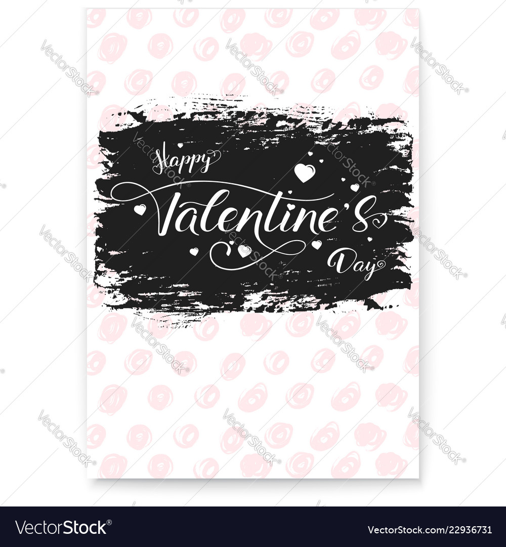 Happy valentines day modern cover greetings