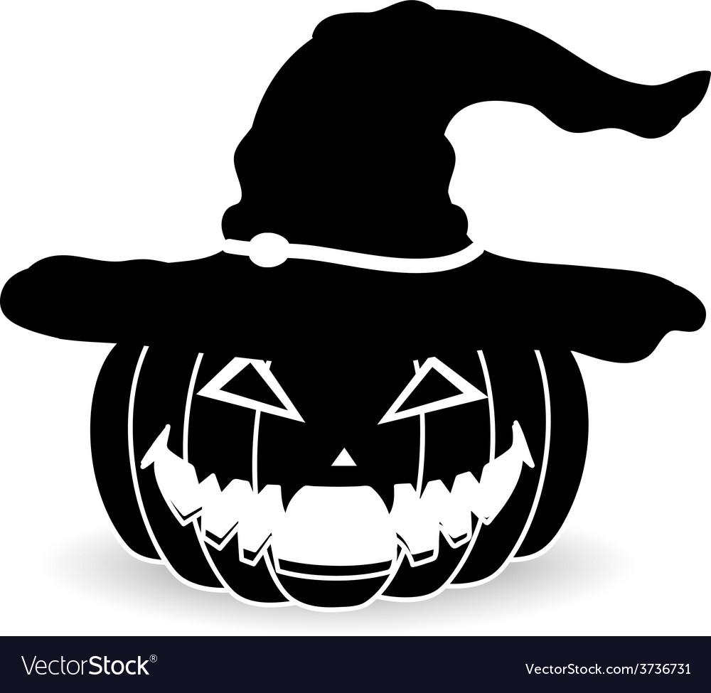 Pumpkin halloween Royalty Free Vector Image - VectorStock