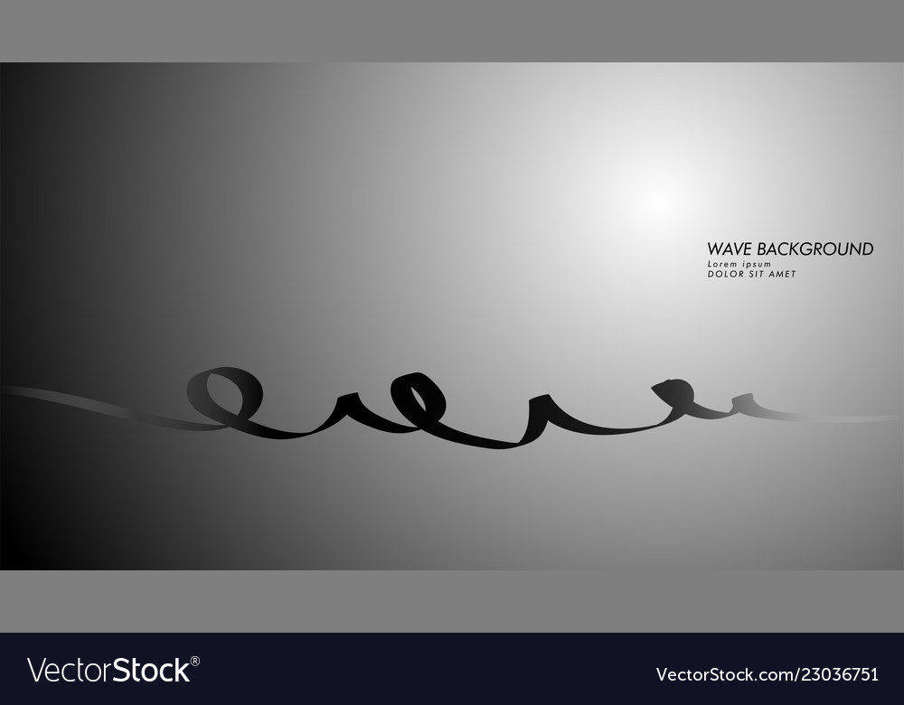 Abstract background with wave and line patterns