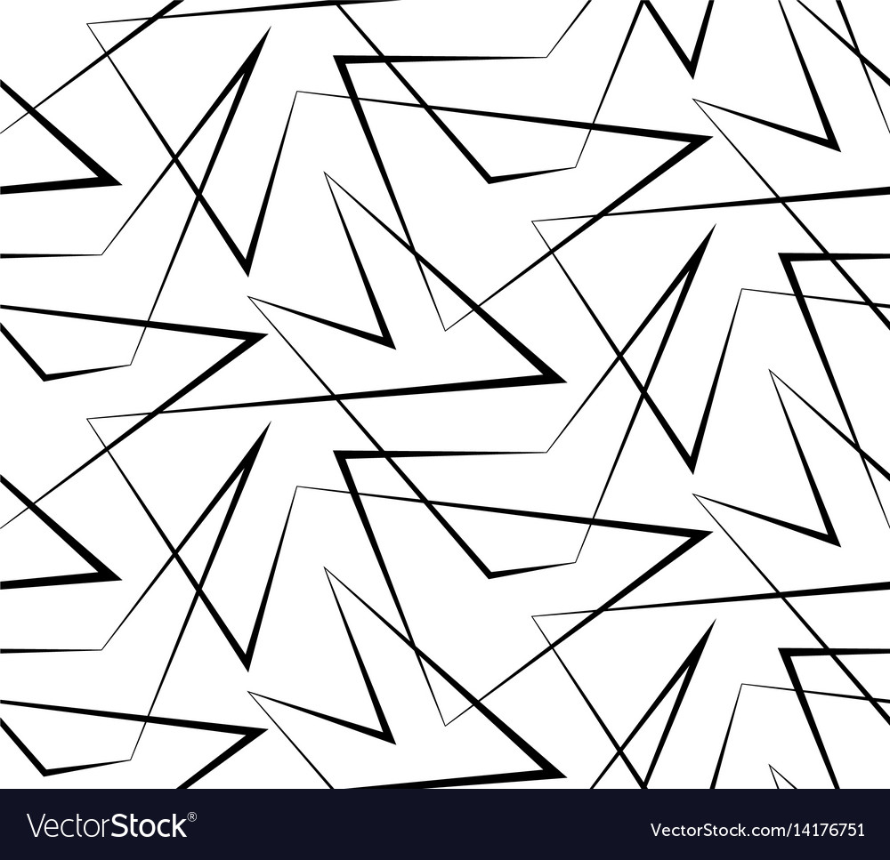 Abstract seamless white background of black