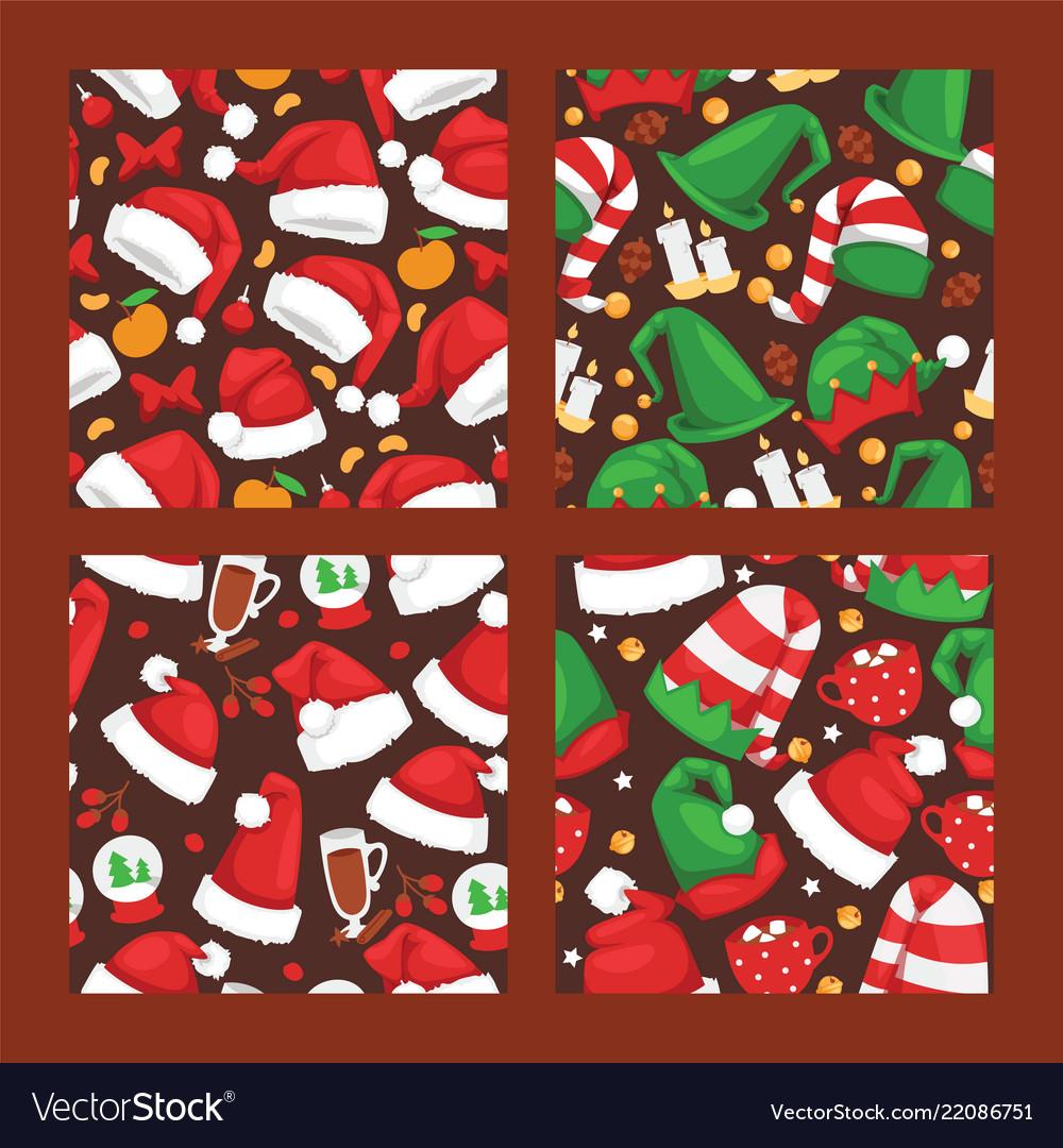 Christmas santa claus red hat noel