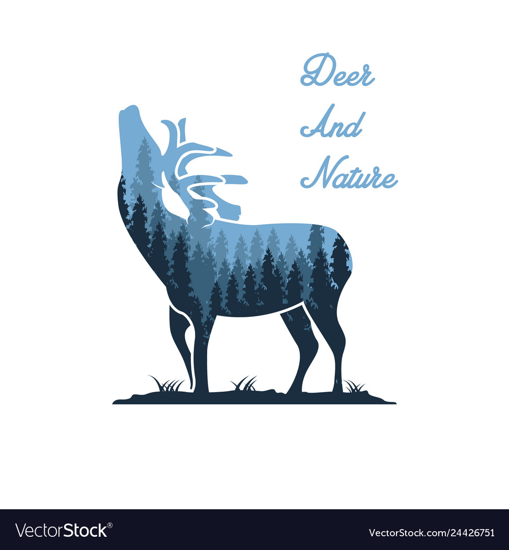 Deer and nature designs