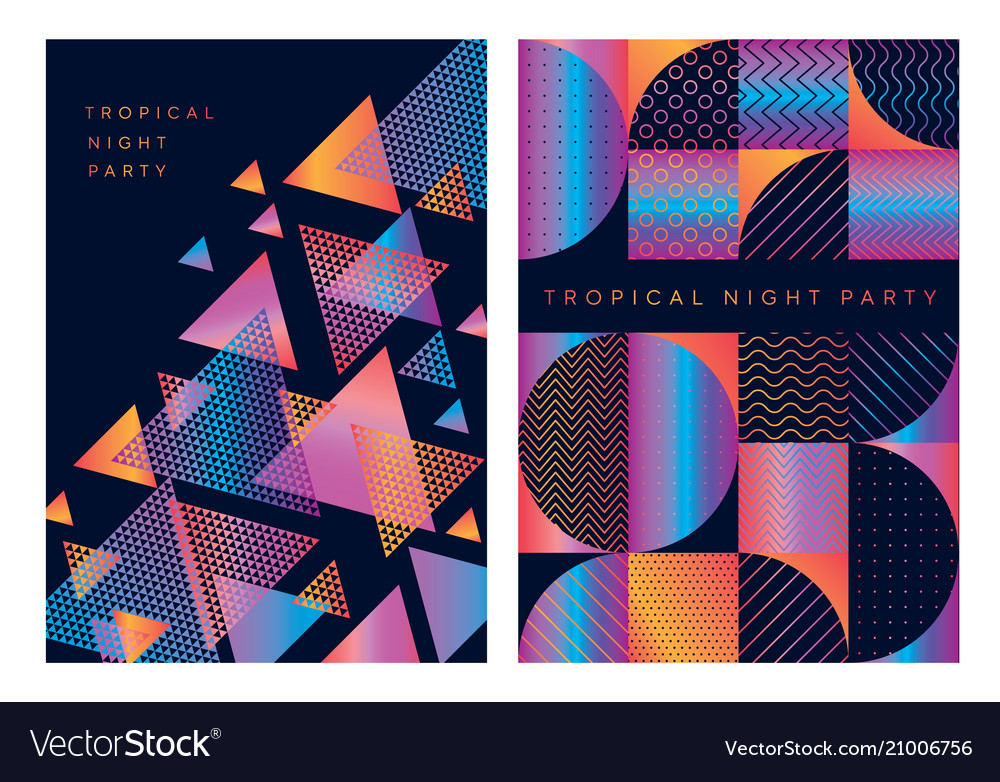 Concept geometric pattern for cover