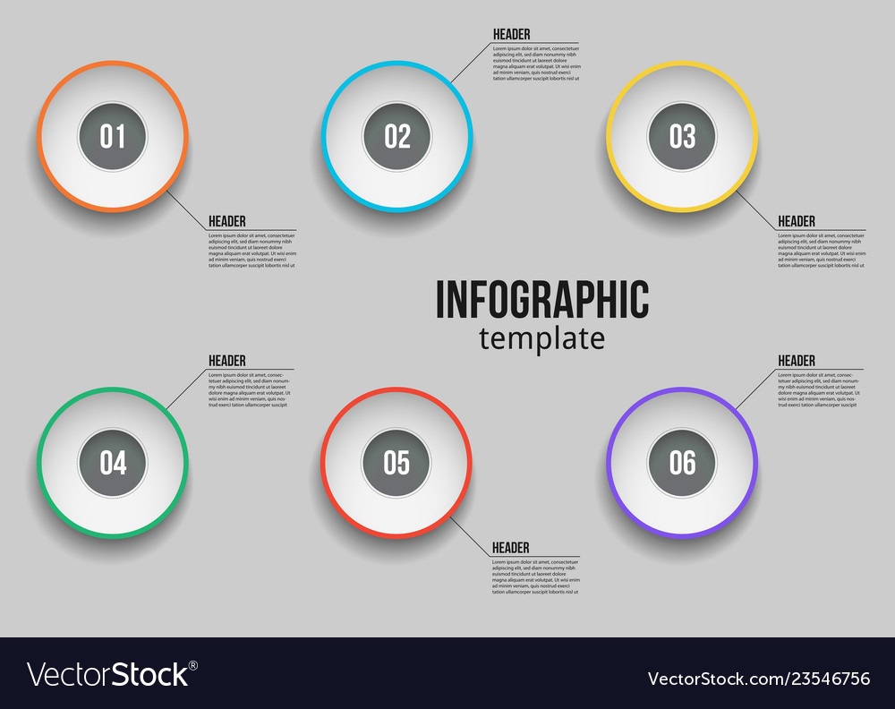 Infographic design template