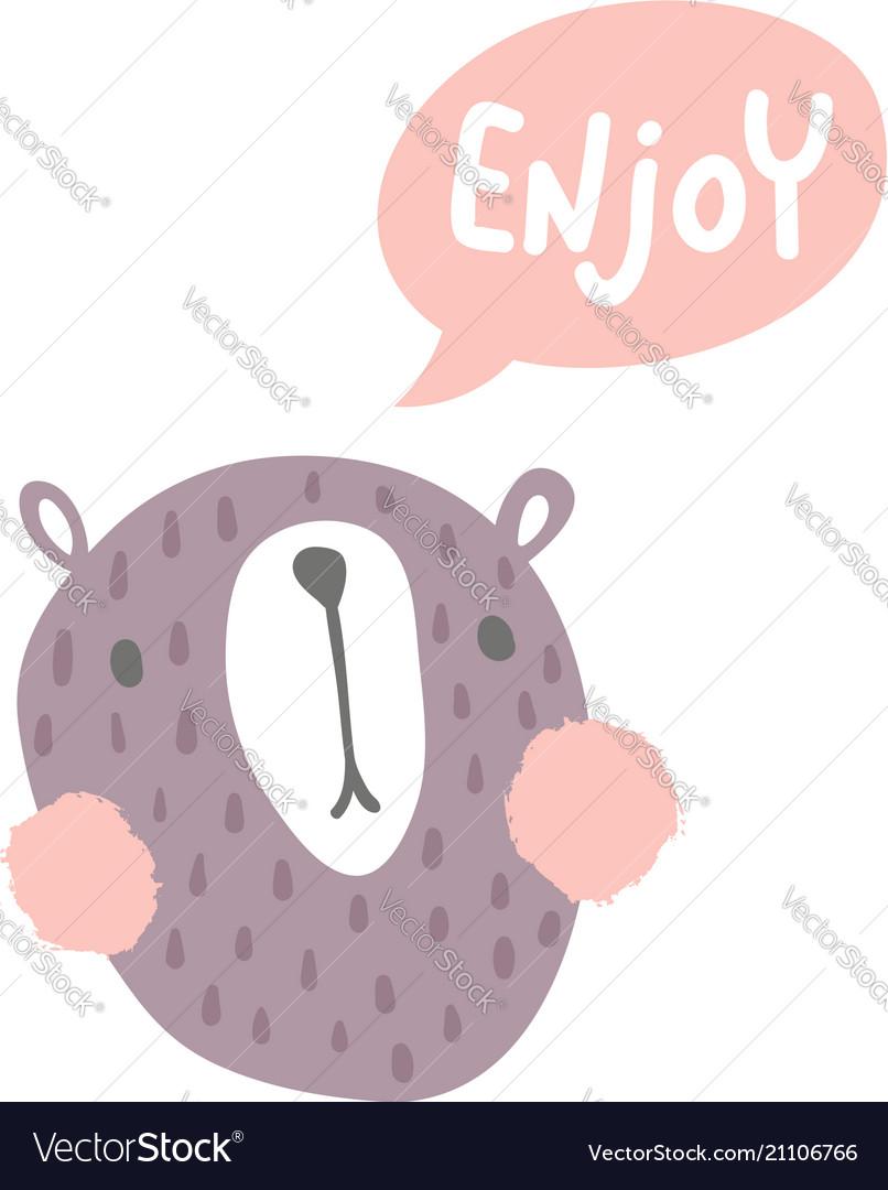 Enjoy bear
