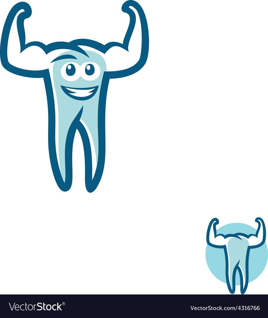 Tooth athlete symbol