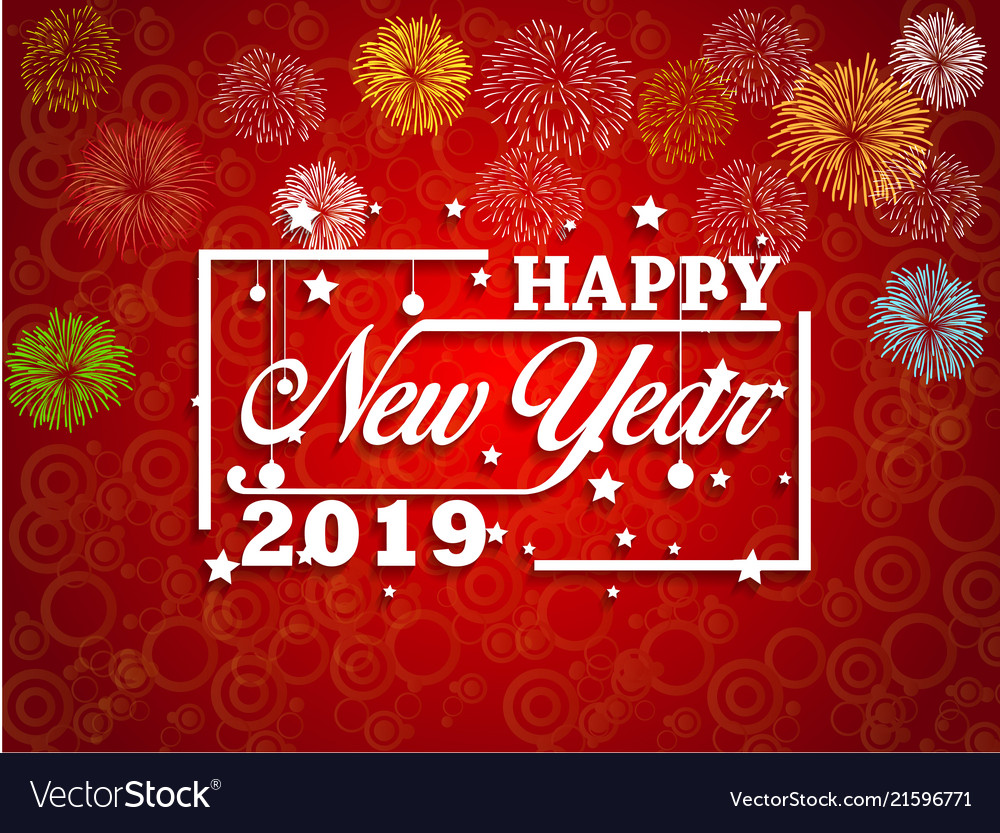 Happy New Year Greeting Card 2