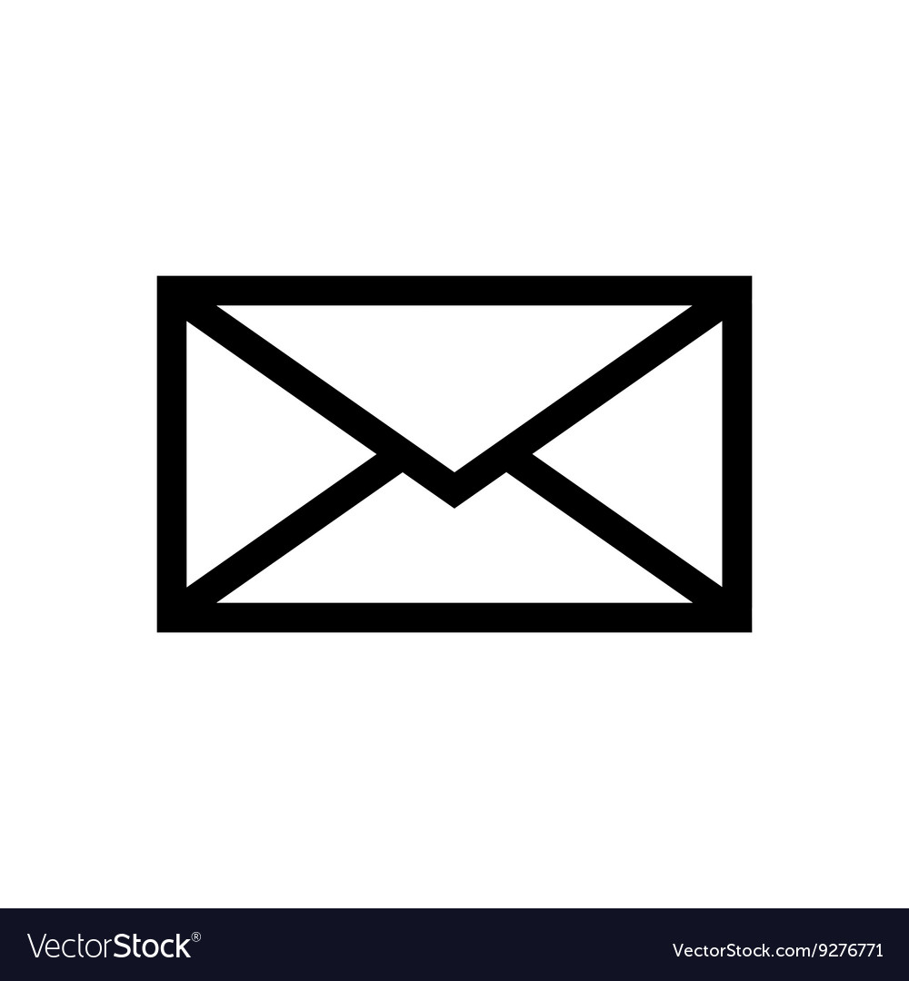 Email Symbol Letter Icon Royalty Free Vector Image