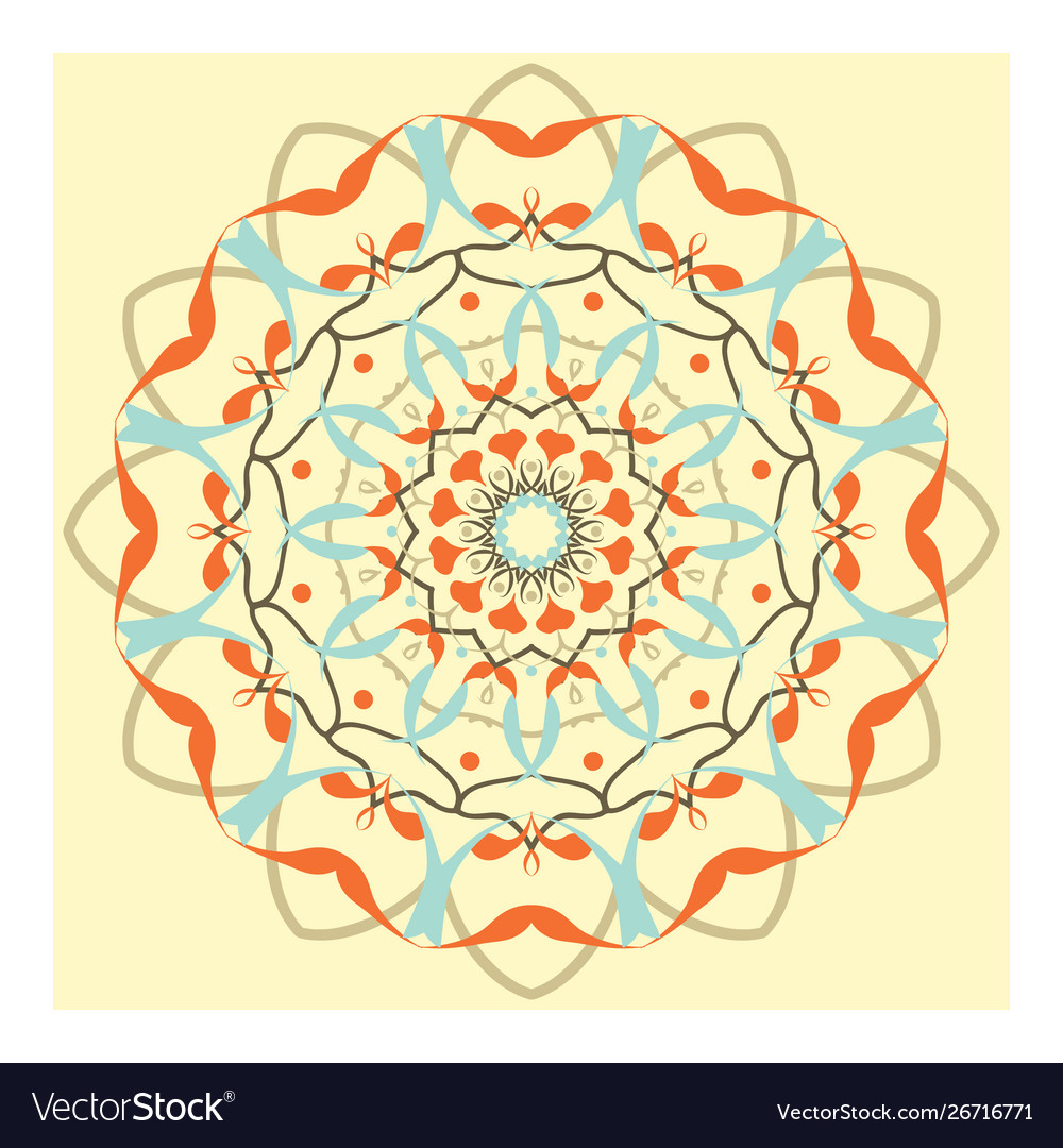 Indian floral ornament pattern ethnic print