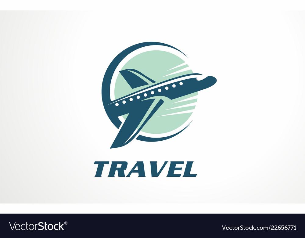 Voyage vacation tour logo designs