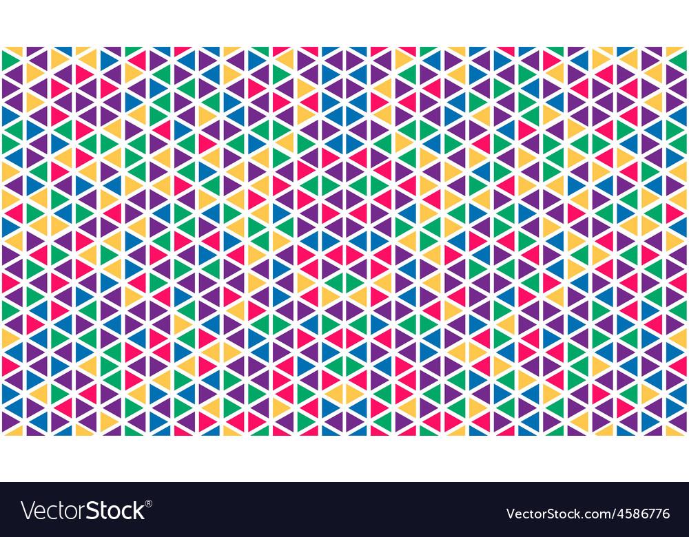 Abstract geometric triangle seamless pattern