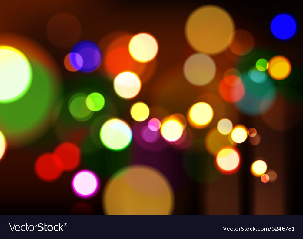 Christmas Lights Background.Abstract Christmas Lights Background