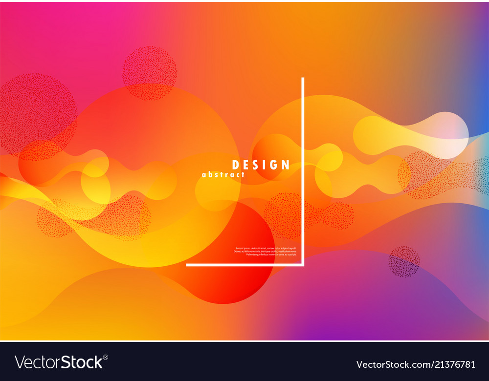 Colorful fluid background abstract