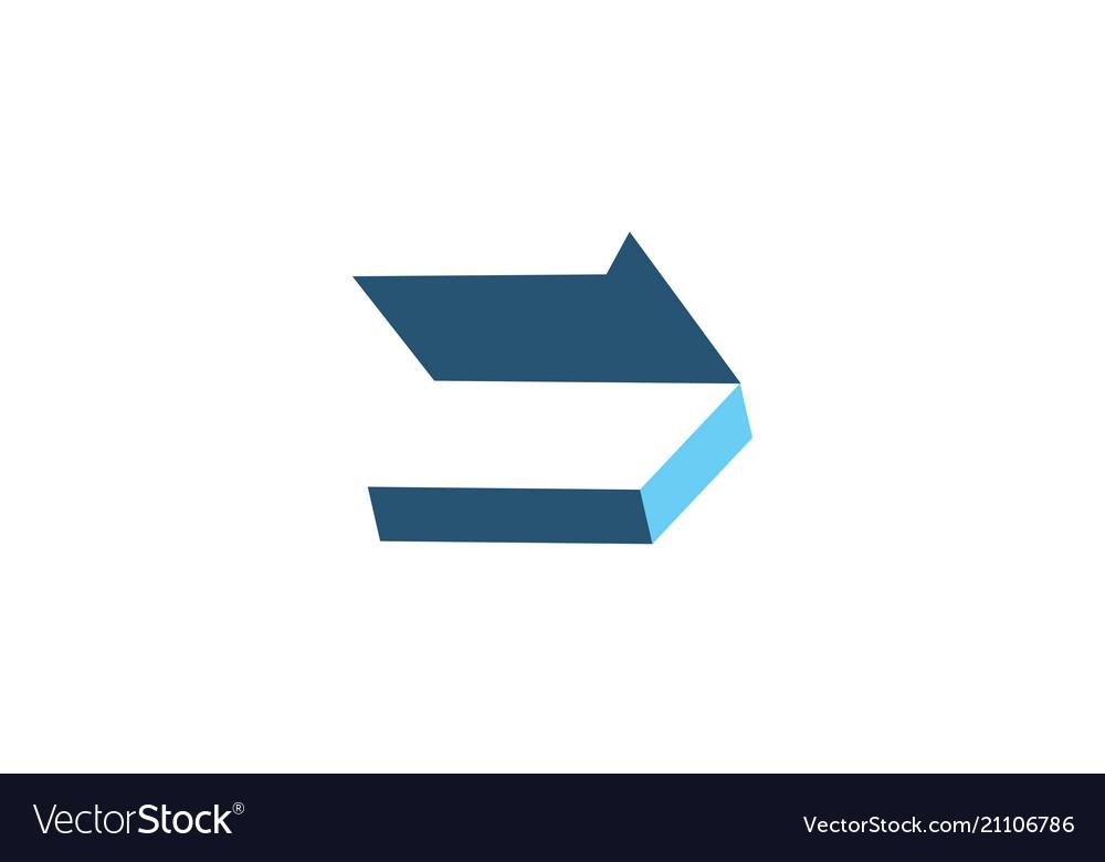 Box open logo design template