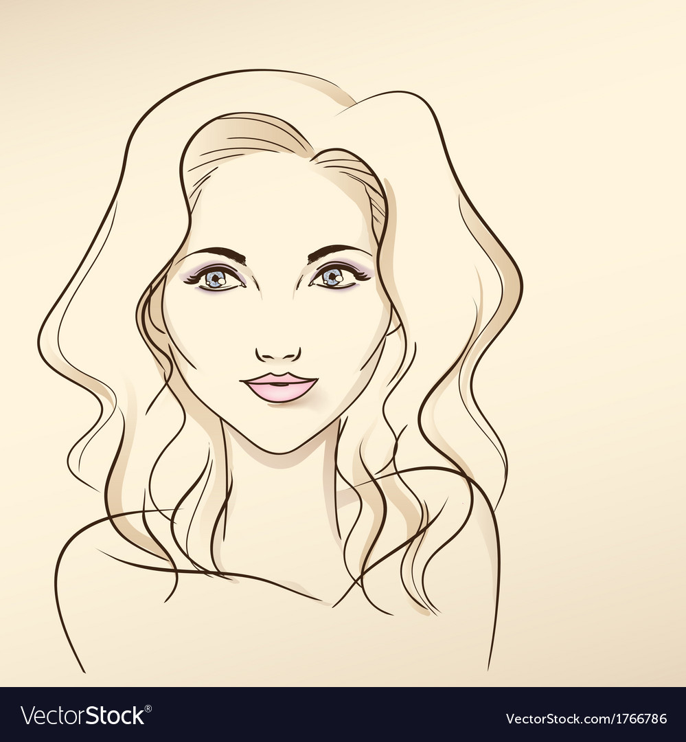 Portrait of woman in pastel tones3