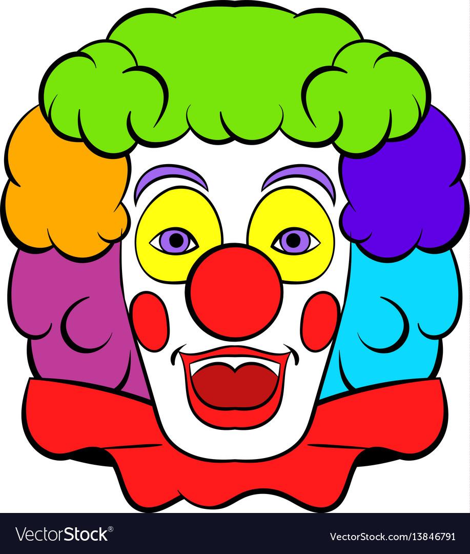 Clown icon icon cartoon