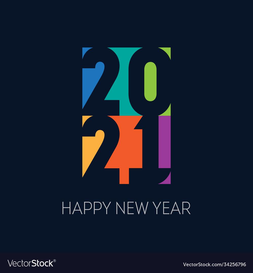 2021 brochure or calendar cover design template Vector Image