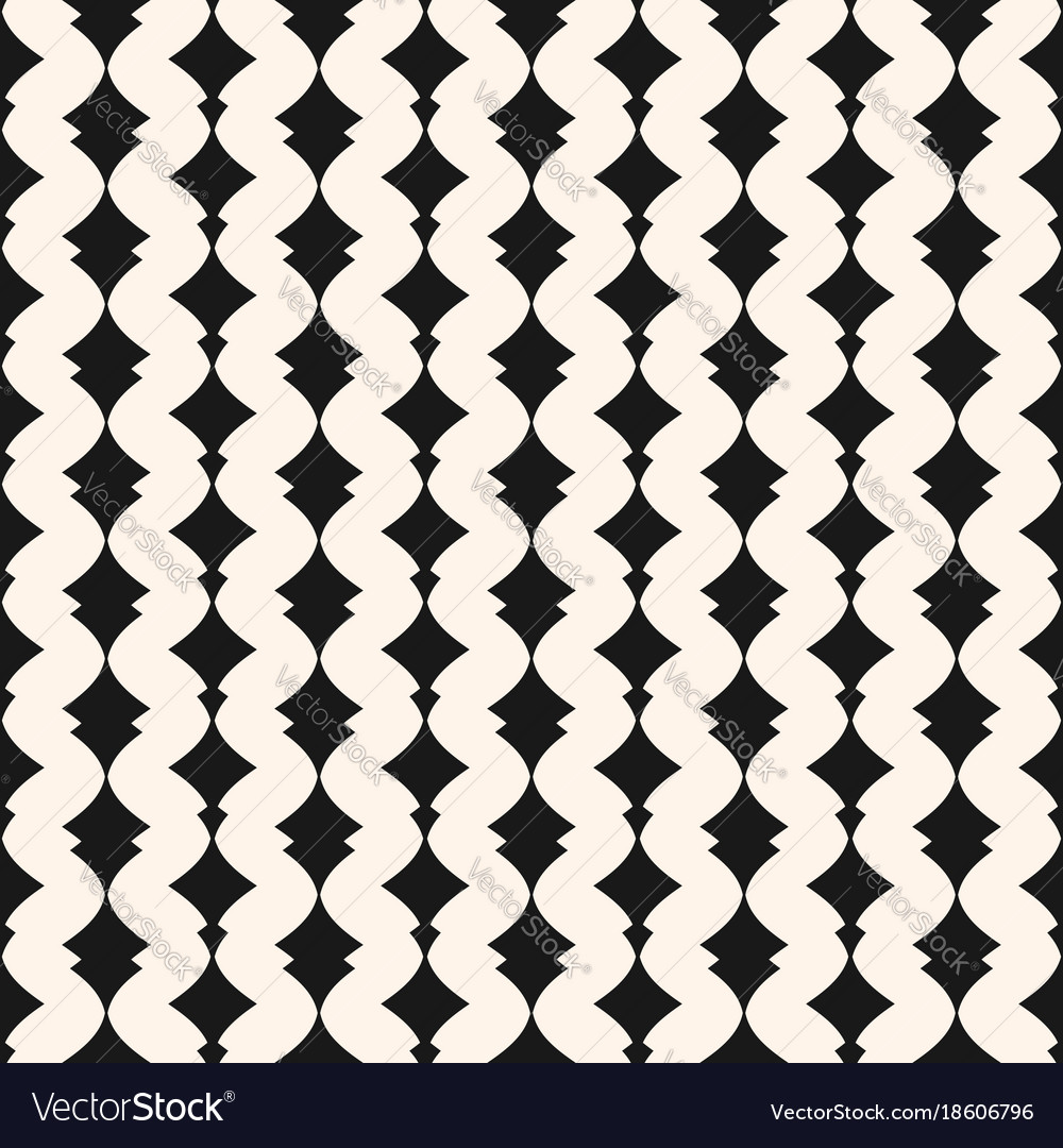 Art deco seamless pattern monochrome geometric