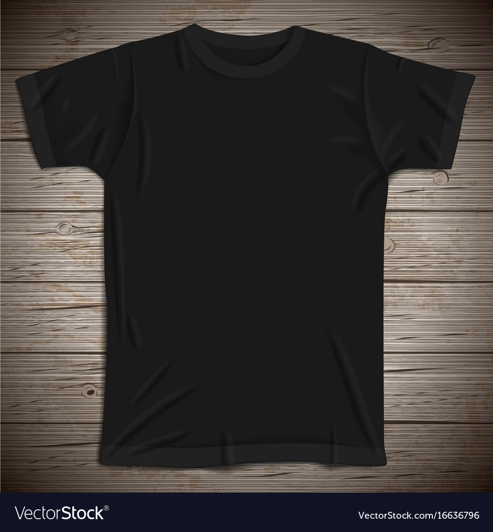 vintage background with blank tshirt royalty free vector