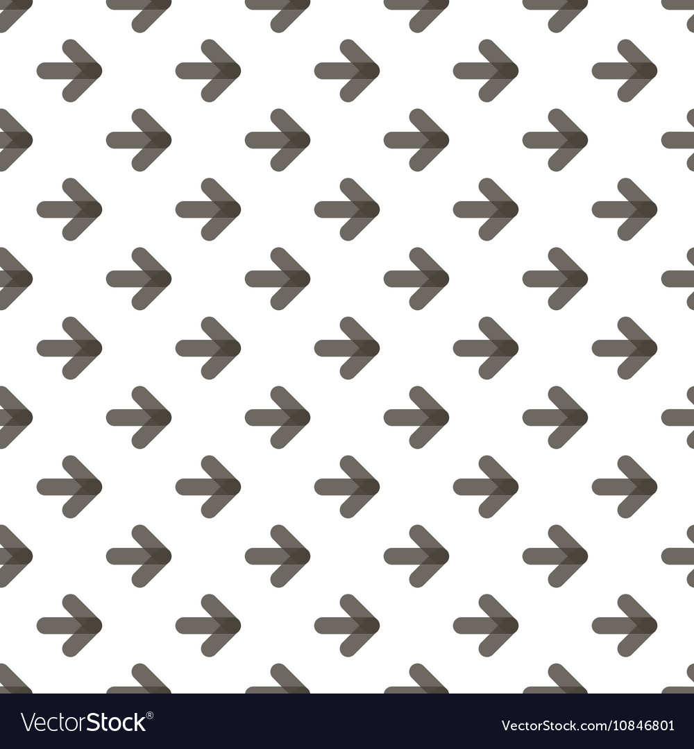 Rounded transparent black arrows seamless pattern