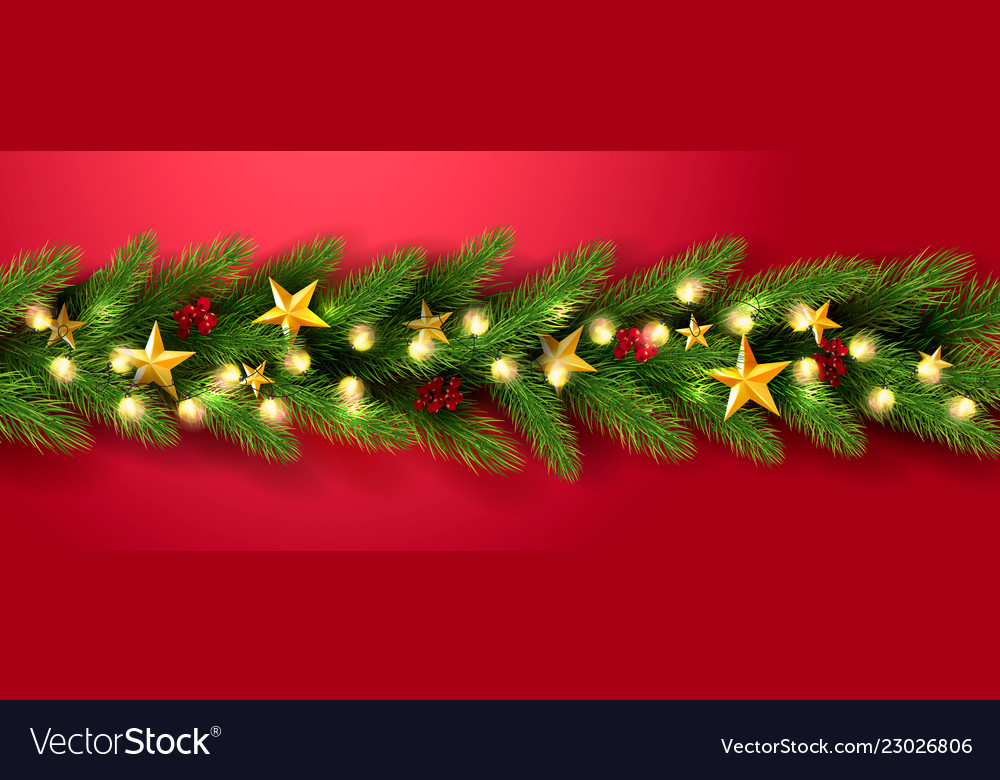 Merry christmas universal red background