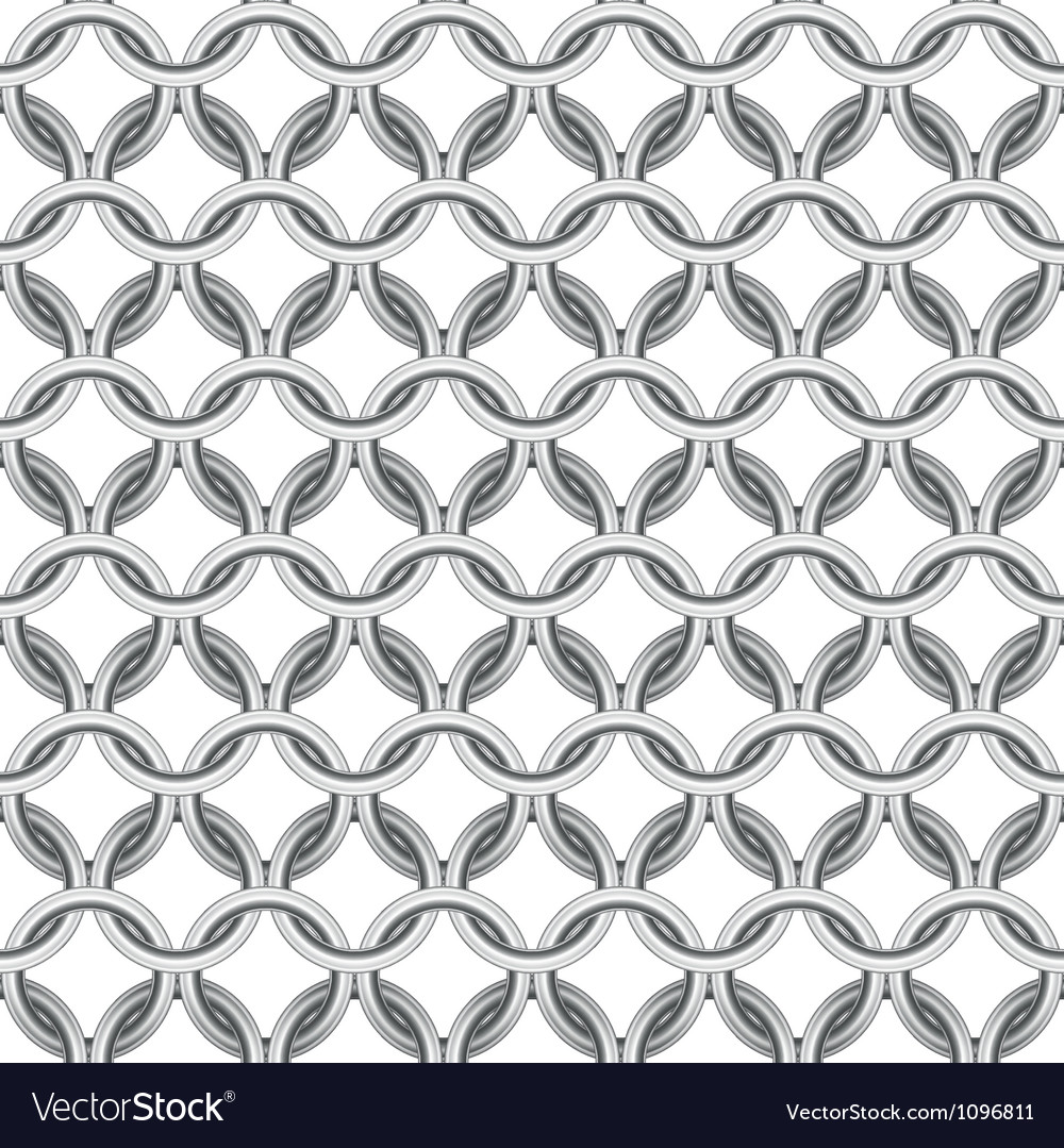 Chainmail seamless vector image