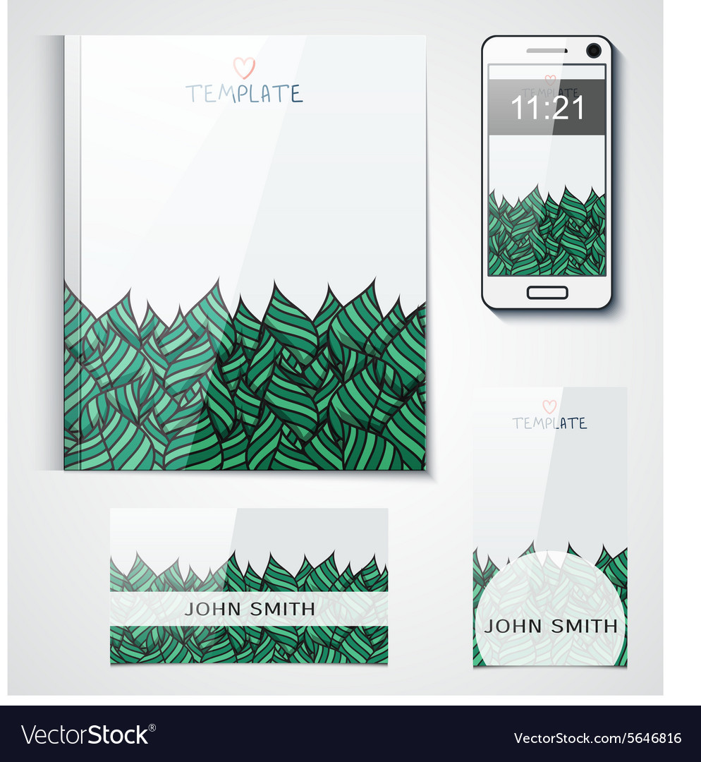 Pattern background design brand products from the vector image