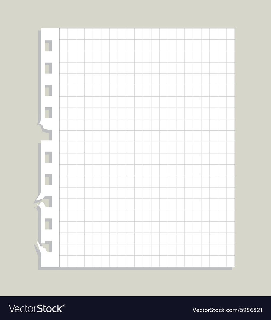 Blank ripped paper