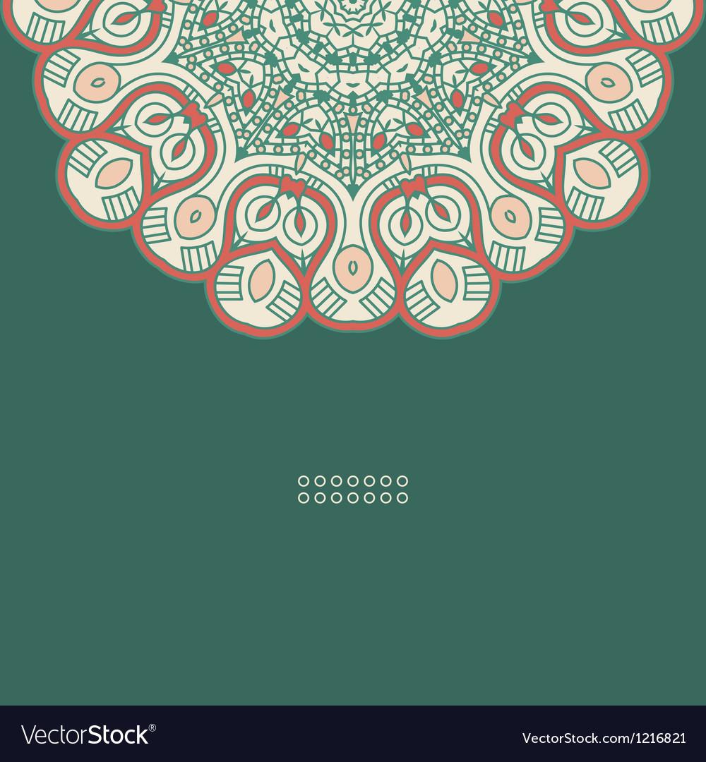 Round decorative design element