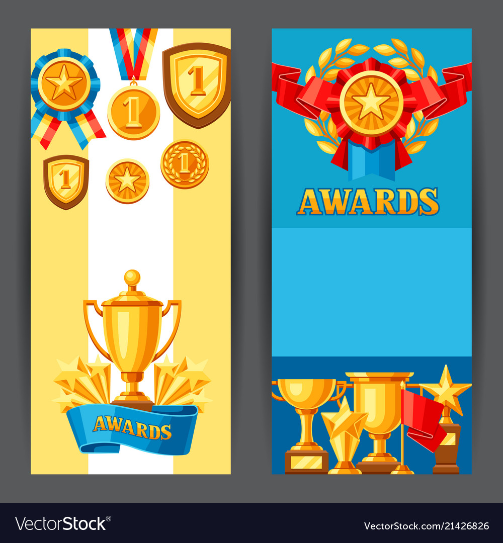 Awards and trophy banners