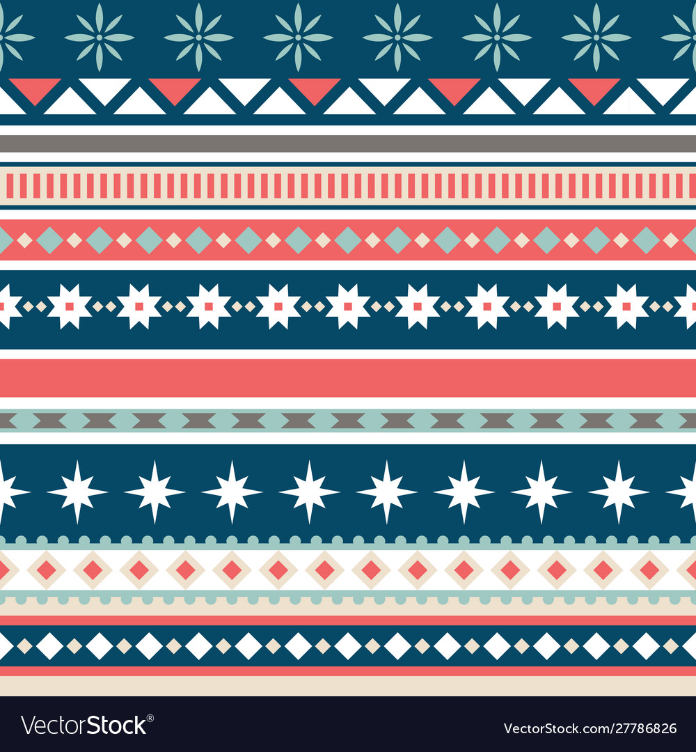 Beautiful seamless pattern with stripes and