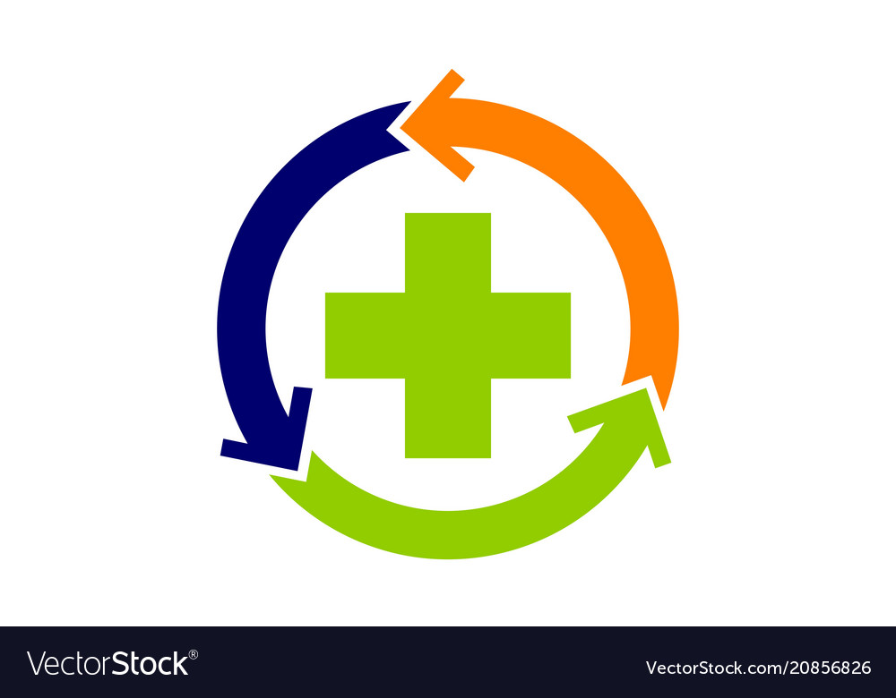 Medical Health Solutions Center Royalty Free Vector Image