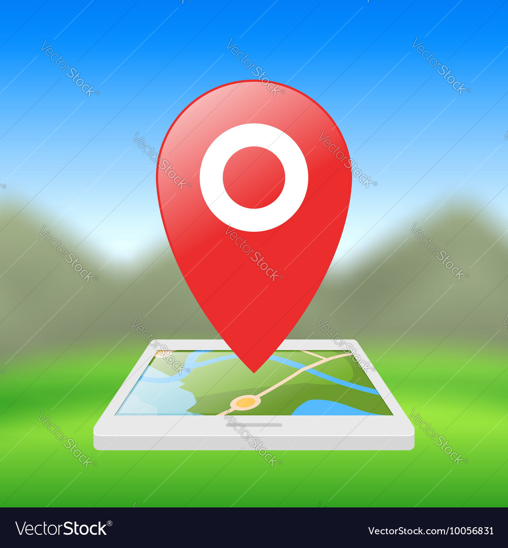 Location symbol application for smartphones