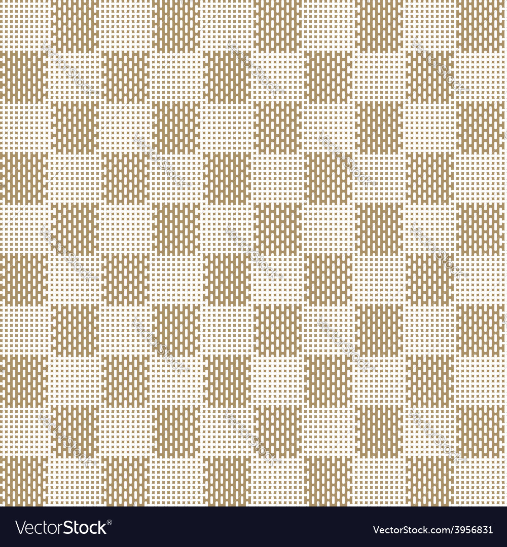 Square beige seamless fabric texture pattern