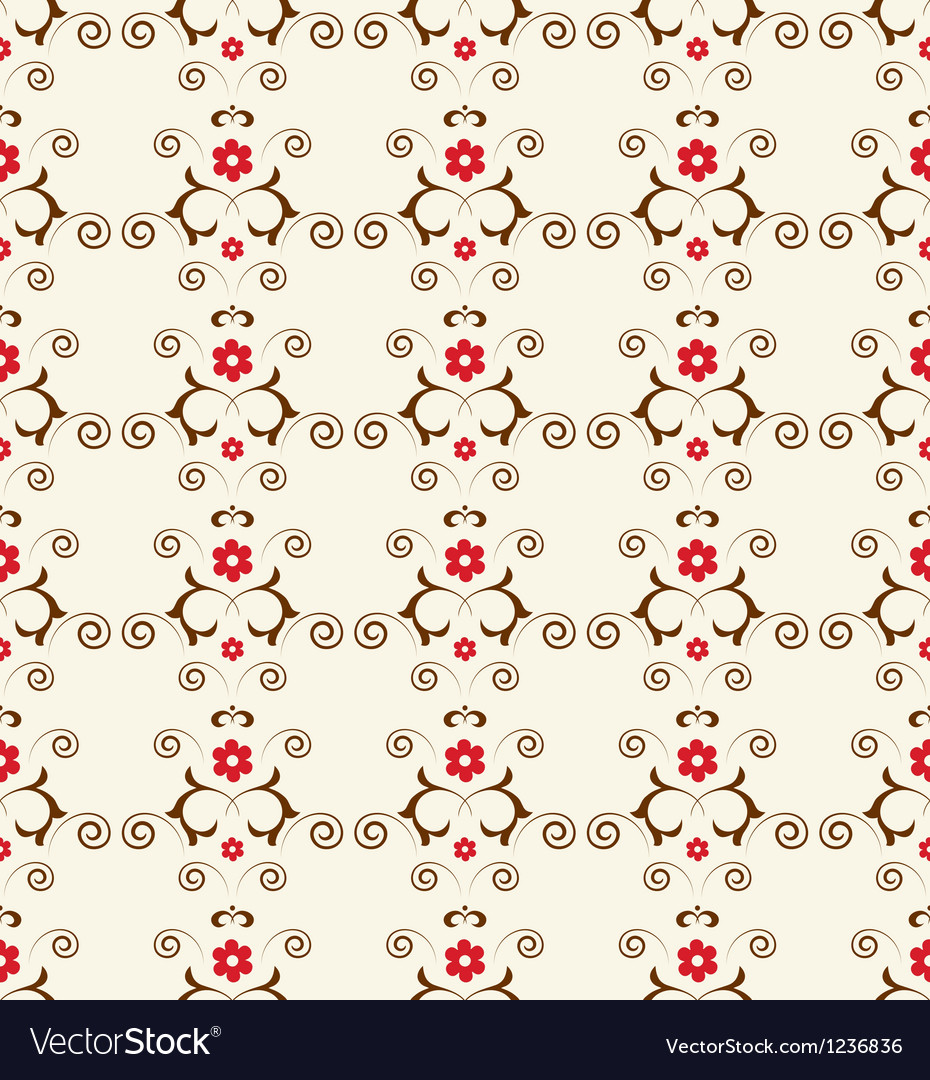 Classic seamless floral ornate background