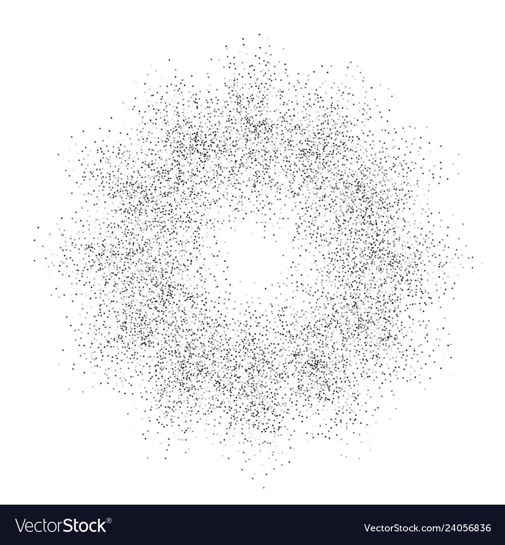 Digital burst pattern with multiple dots