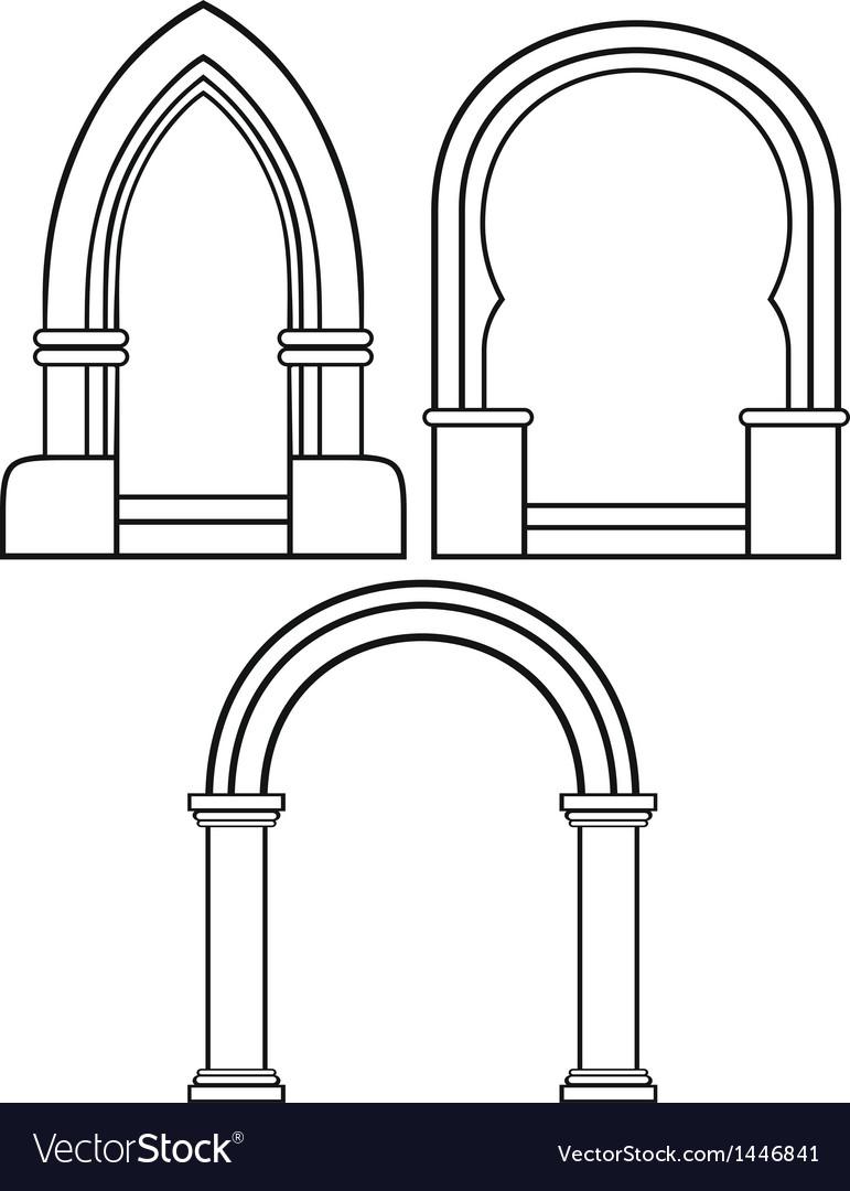 Classic arch