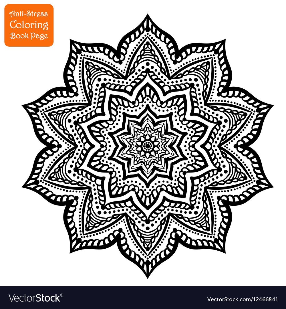 Mandala Hand Drawn Intricate