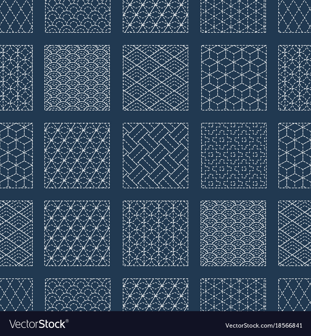 Sashiko Patterns Magnificent Design Inspiration