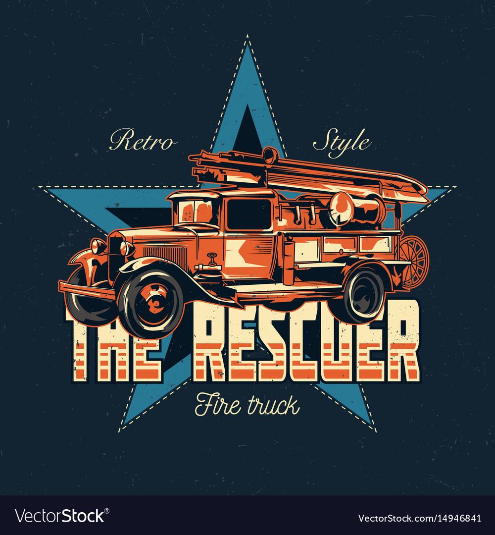T-shirt label design vector image