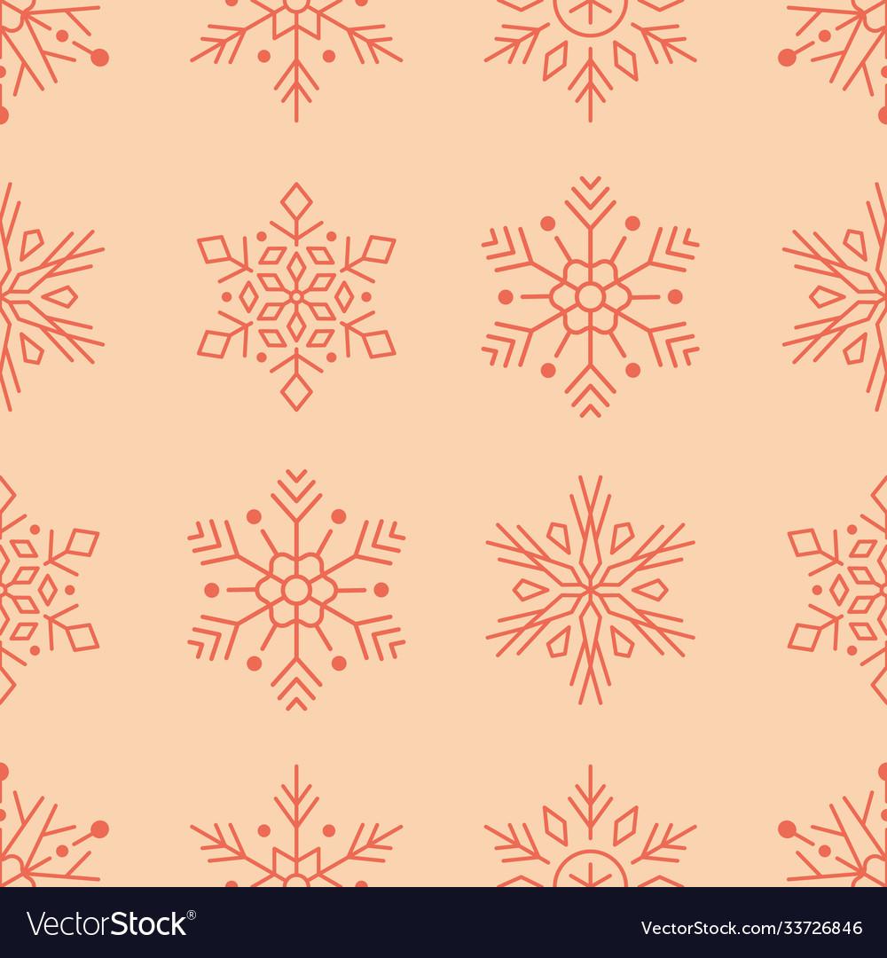 Year seamless pattern red