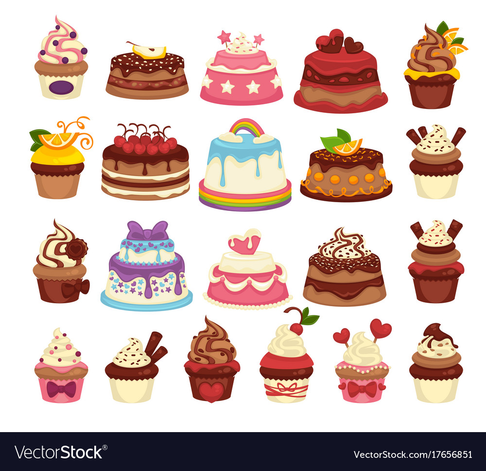 Amazing festive cakes and tasty cupcakes of