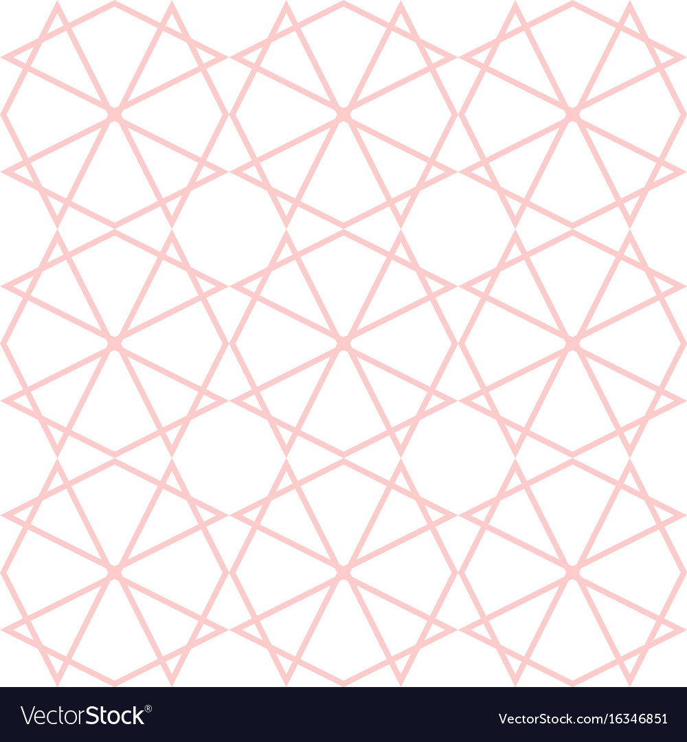 Tile Pattern Or Pink And White Wallpaper