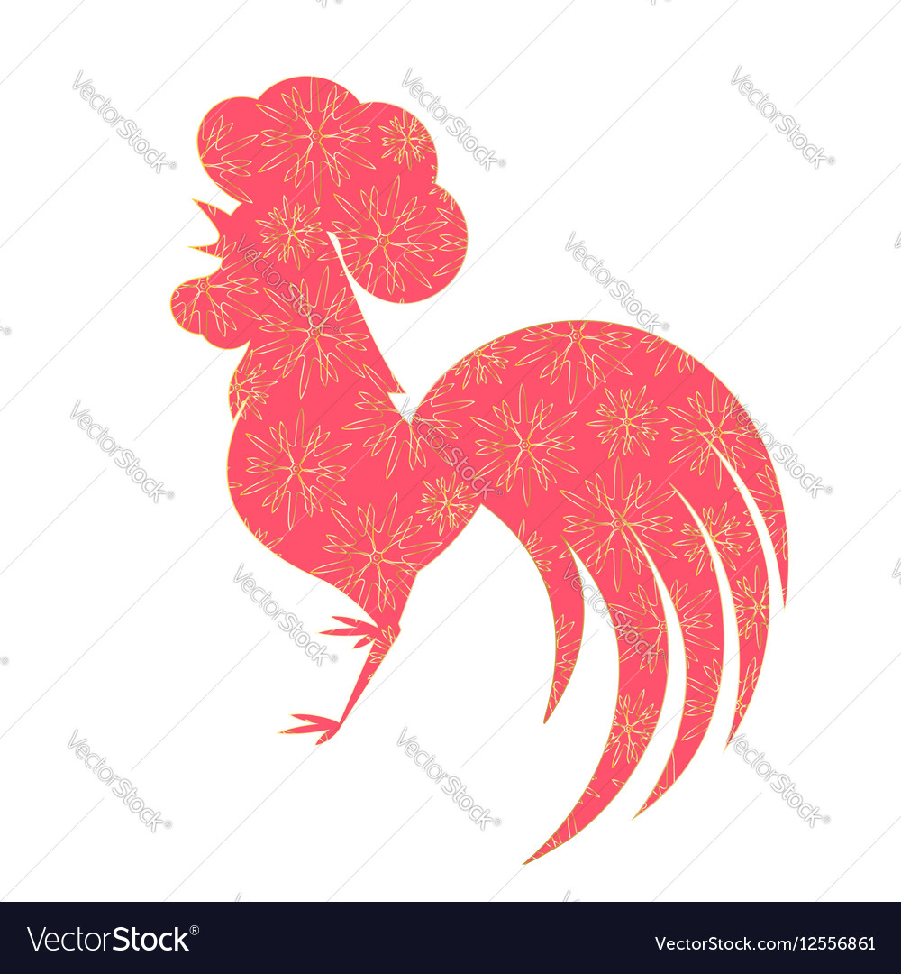 Chinese Lunar New Year 2017 Royalty Free Vector Image