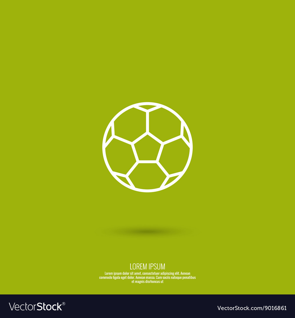 Icon soccer ball