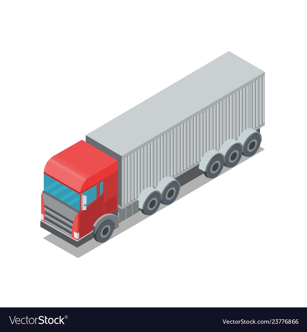 Design of trailer container