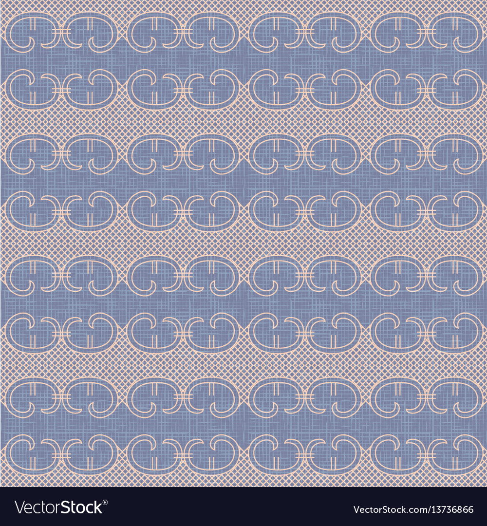 a59f4819d0 Vintage lace trim seamless pattern background Vector Image