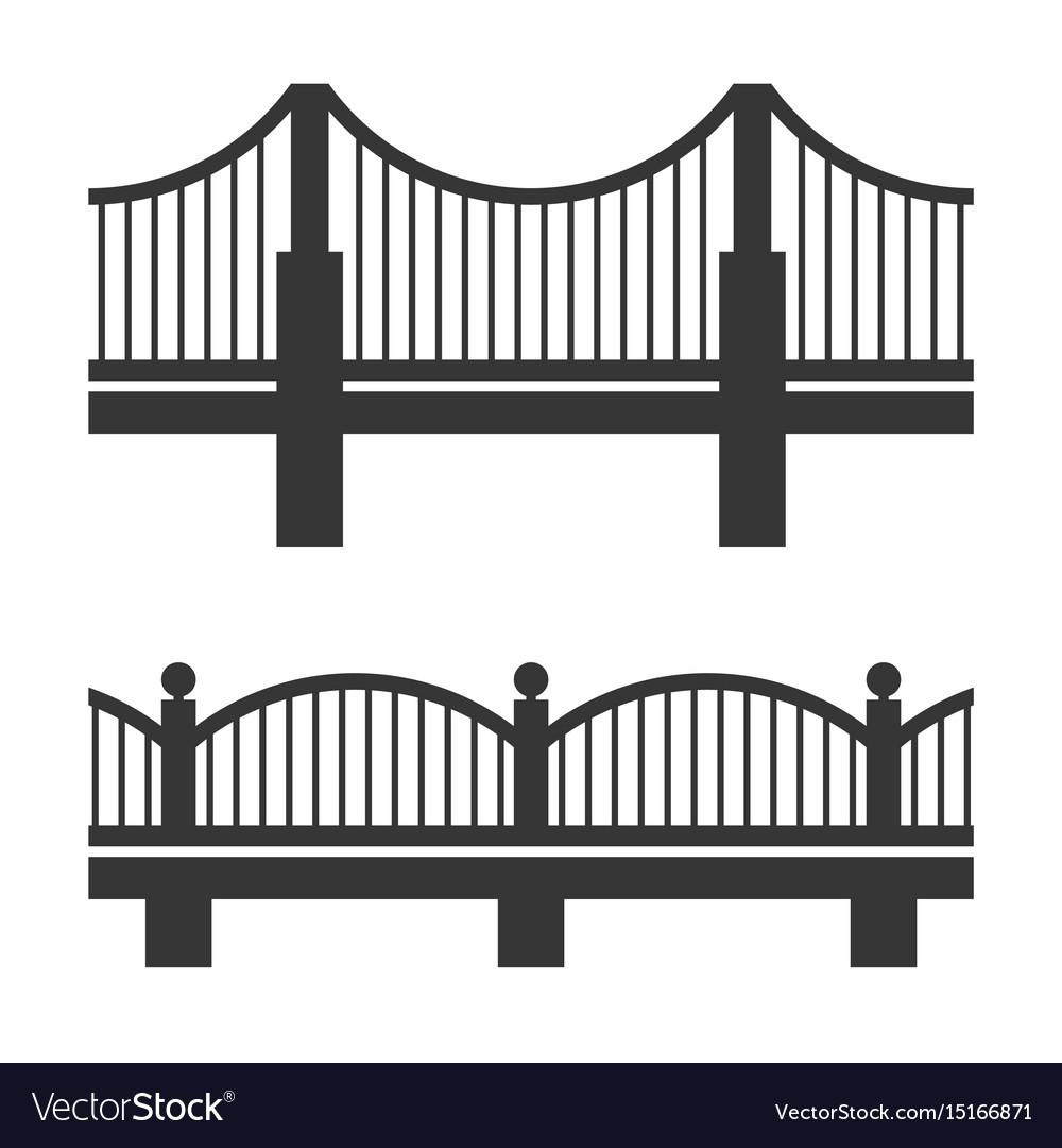 Bridge icon set